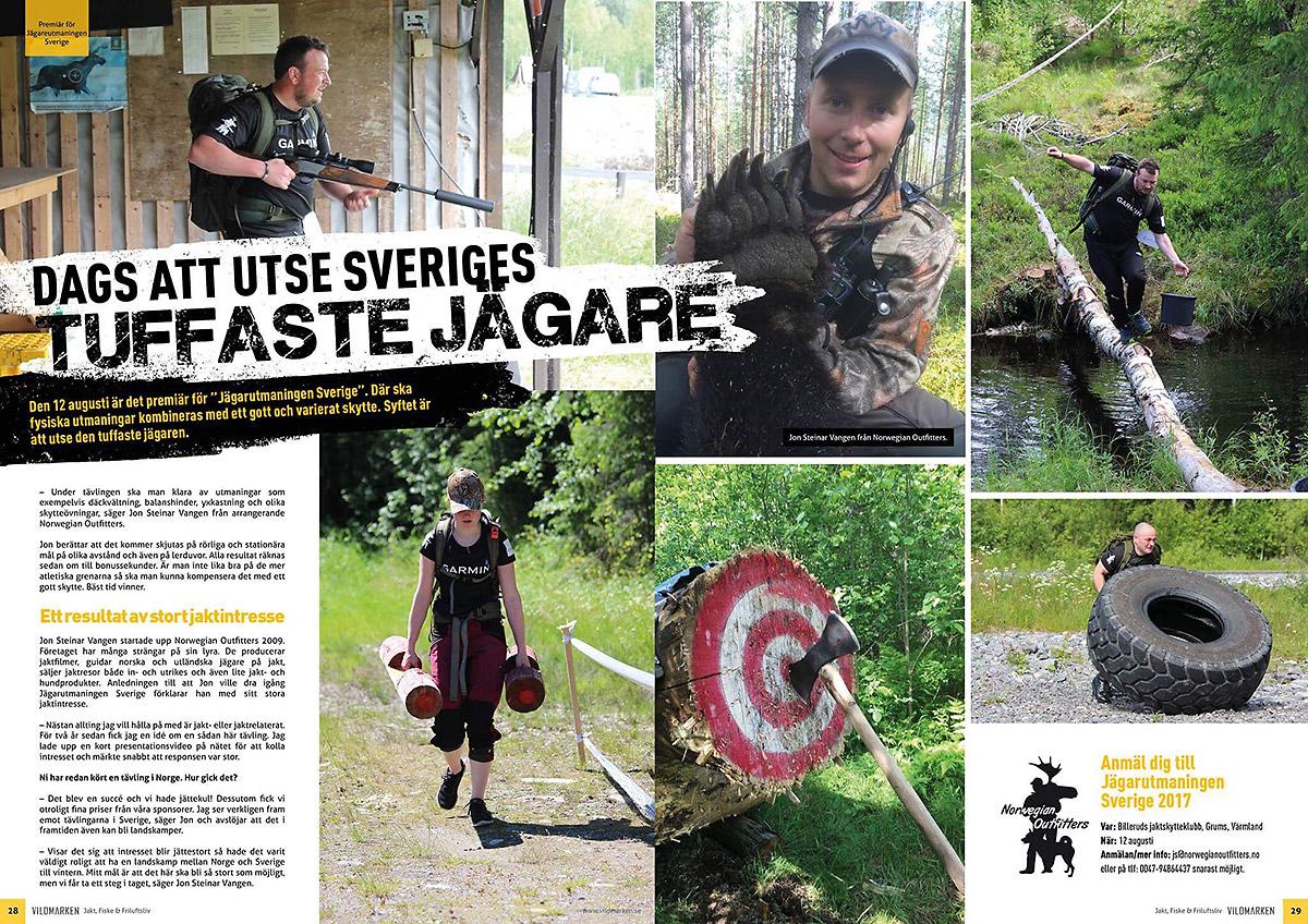 Sveriges tuffaste jägare