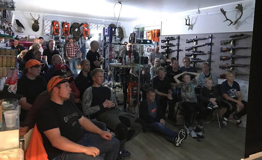 Norwegian Outfitters holder foredrag i jakt
